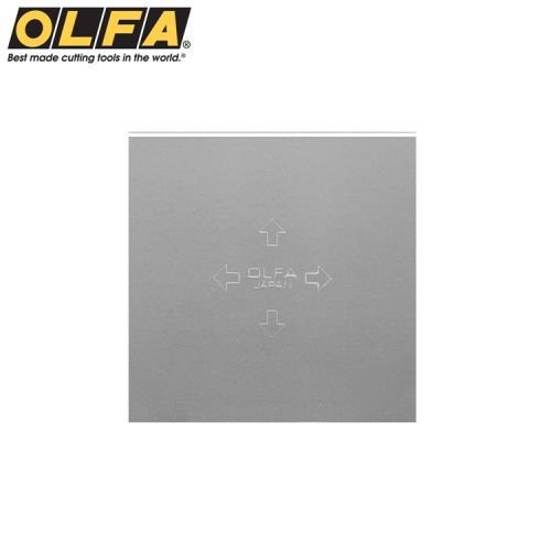 日本OLFA不鏽鋼刮刀替刃TB-45(45x45mm;不鏽鋼製可水洗)適T-45