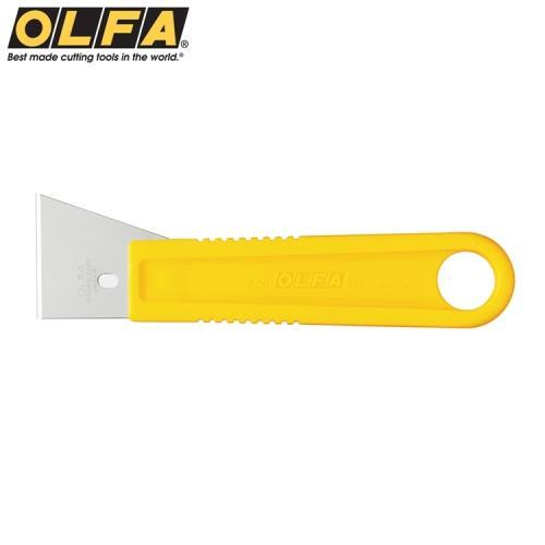日本OLFA不鏽鋼刮刀SCR-M(中:尺寸155mm*43mm;不銹鋼製可水洗)適刮除殘膠.油漆.矽立康Silicon