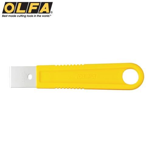 日本OLFA不鏽鋼刮刀SCR-S(小:尺寸155mm*30mm;不銹鋼製可水洗)適刮除殘膠.油漆.矽立康Silicon