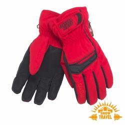 SNOWTRAVEL SKI-DRI防水透氣PRIMALOFT保暖手套 (紅色)