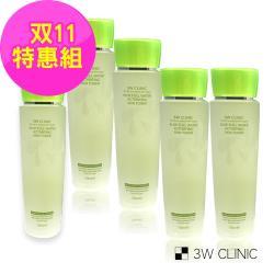 韓國3W CLINIC 蘆薈舒敏保濕化妝水 150ml x 5入超值組