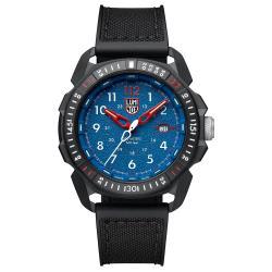 LUMINOX 雷明時 ICE-SAR Arctic 冰島搜救隊聯名腕錶 - 藍x白時標/45mm A1003