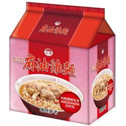 台酒TTL 紅標米酒麻油雞袋麵(12包入/箱)