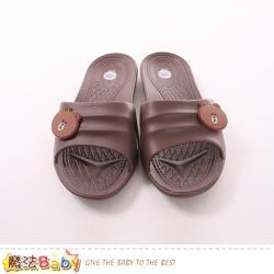 魔法Baby 拖鞋 LINE熊大授權正版防滑拖鞋 sk0535