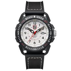 LUMINOX 雷明時 ICE-SAR Arctic 冰島搜救隊聯名腕錶–白x白時標/45mm A1007