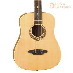 美國 LUNA 繆斯 雲杉/桃花心木 36吋旅行吉他 SAF MUS SPR