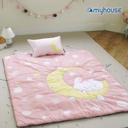 BabyTiger虎兒寶  MYHOUSE  韓國防蟎兒童睡袋 - 月兔粉