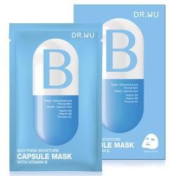 DR.WU 保濕舒緩膠囊面膜B-3片