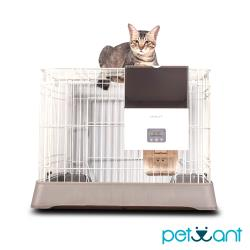PETWANT 籠子專用寵物自動餵食器 F4 LCD(不含籠子)