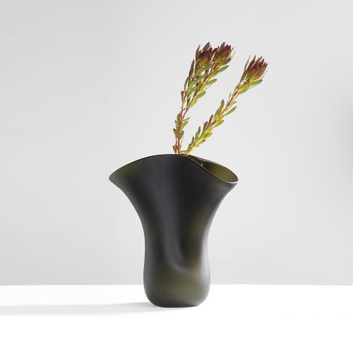 3,co 動景花器Y - 綠