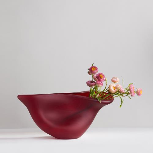 3,co 動景花器X - 紅