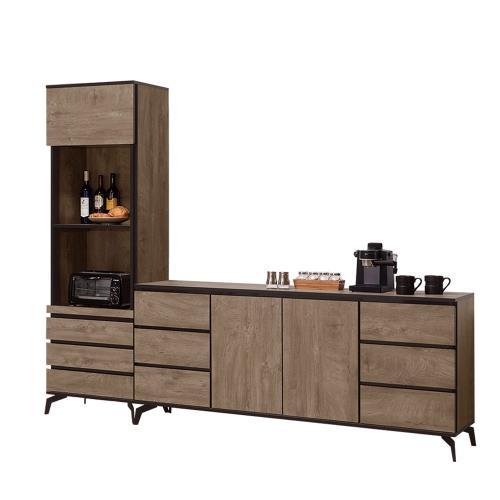 H&D 奧利佛8尺餐櫃
