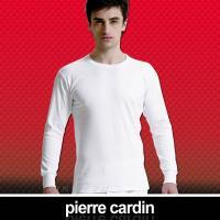 Pierre Cardin皮爾卡登 排汗厚暖棉圓領長袖衫