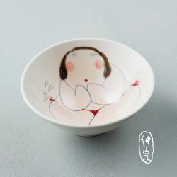 吳仲宗 胖太太系列 - 日本碗 - 紅內褲