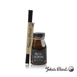 日本John′s Blend 室內香氛擴香瓶(140ml/瓶)(麝香茉莉MUSK JASMINE)