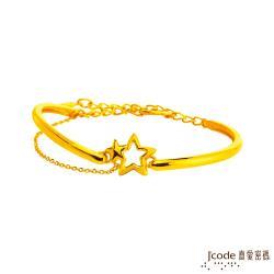 Jcode真愛密碼 星願夢想黃金手環
