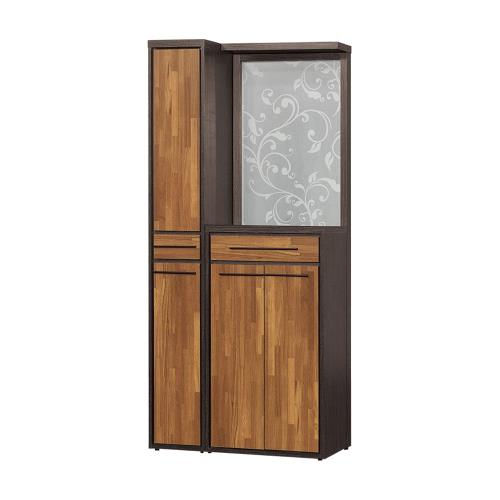H&D 黑格比3尺屏風鞋櫃