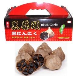 【鑽石級黑蒜】BLACK GARLIC養生特級黑蒜頭禮盒(8顆裝)4盒