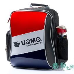 【UnMe】斜槓世代人體工學雙層後背書包(紅色)