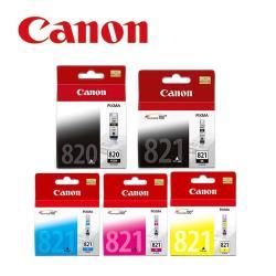 CANON PGI-820BK+CLI-821BK/C/M/Y 原廠墨水組合 (2黑3彩)