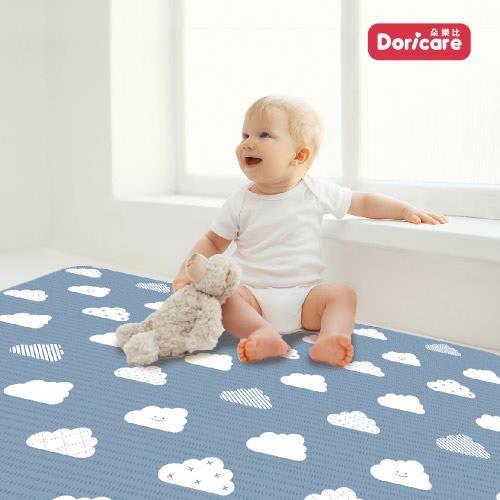 【Doricare朵樂比】超Q彈抗菌遊戲地墊120x180cm-晴空雲朵-可裁切12mm/