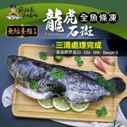 蘇班長安心石斑 龍虎石斑鮮魚條凍600g 3入組 歐盟食安標準 得獎最多的石斑(龍虎石斑 龍膽石斑 永安石斑)