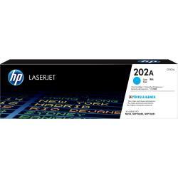 【HP 惠普】202A 青色原廠雷射碳粉匣(CF501A)