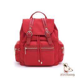 B.S.D.S冰山袋鼠 - 微醺小調 - 簡約訂製款大容量後背包 - 薔薇紅【H001R】