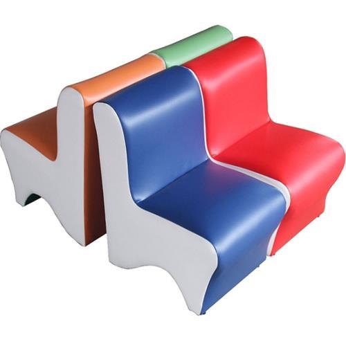 MIT簡約現代 兒童繽紛小沙發
