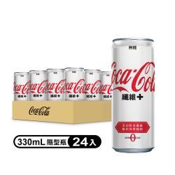 可口可樂纖維+易開罐 330ml (4入x6組/箱)