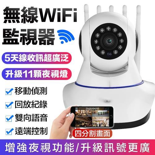 【Uta】5天線無線網路旋轉監視器HDR5(公司貨)/