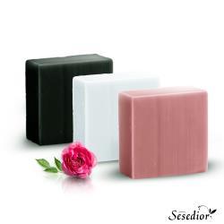 Sesedior手工皂系列任選6入 (山羊奶皂/美白皂/竹炭皂)