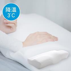 澳洲Simple Living  3D護頸型降溫慢回彈零感記憶枕-二入(台灣製)