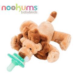 【美國nookums】寶寶可愛造型安撫奶嘴/玩偶-小獅子