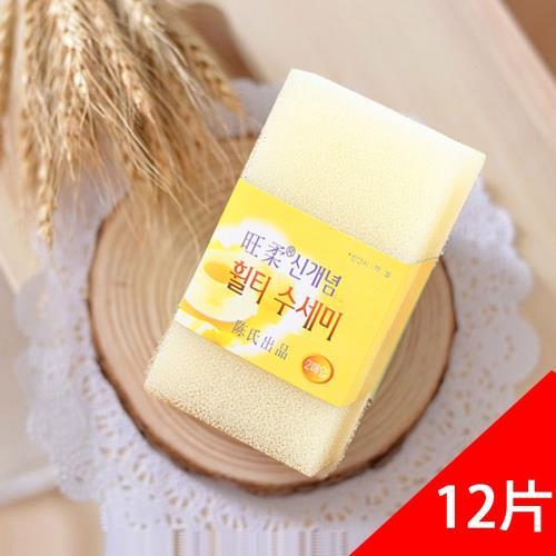 QHL酷奇-韓國神奇魔術樹脂菜瓜布-12片