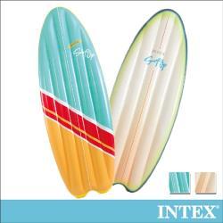 INTEX 衝浪板造型浮排178x69cm-2色可選 適用:成人 (58152)