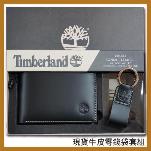 【Timberland】牛皮夾