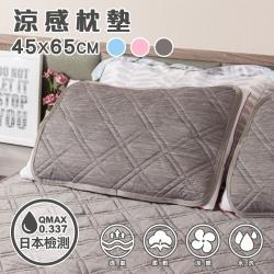 樂嫚妮 涼感纖維墊45x65公分-枕墊(2入)