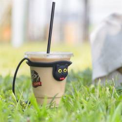 Bone / Cup Tie 環保杯綁 飲料提袋 - 喵喵貓 / 麋鹿先生 / 派提鴨 / 企鵝小丸