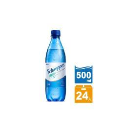 舒味思 氣泡水 纖維+ 寶特瓶 500ml(24入)