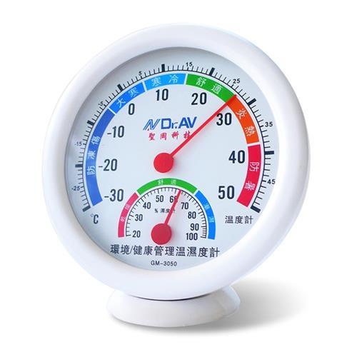 Dr.AV 環境/健康管理溫濕度計(GM-3050)/2入