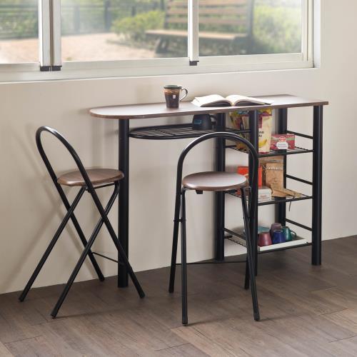 TZUMii馬汀吧檯桌椅組(一桌兩椅)
