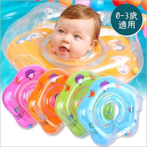 兒童游泳圈 新生兒充氣脖圈嬰兒頸圈救生圈