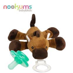 【美國nookums】寶寶可愛造型安撫奶嘴/玩偶-小馬哥
