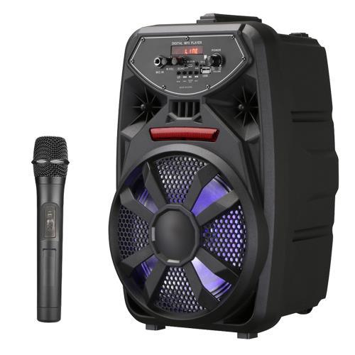 大聲公歡樂型無線麥克風多功能行動音箱/喇叭