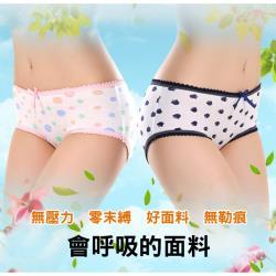 EHD 甜美糖果色印花超舒適棉質內褲( 六款可選)