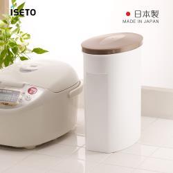 日本ISETO 日製不透光雜糧保鮮儲米桶-5kg