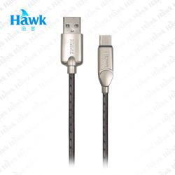 Hawk 可彎折Type-C充電傳輸線(04-HZP150)