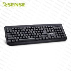 Esense 3510 USB防潑水標準鍵盤(13-EKS351)