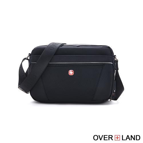 OVERLAND-美式十字軍-簡約設計款輕巧斜背包-5386